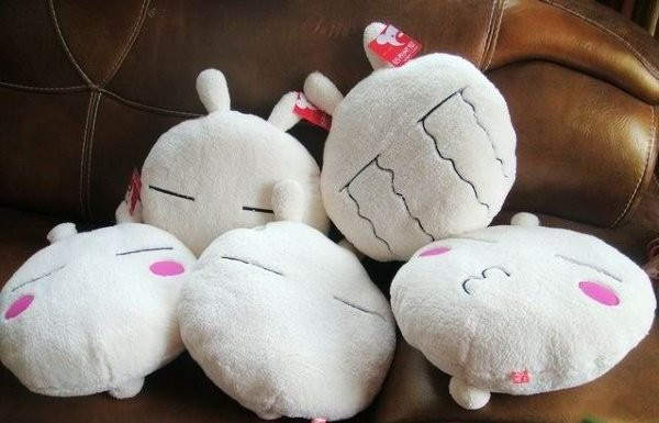 Super cute Plush toys  Cartoon rabbit Lovely pillow cushion Back cushion seat 45cm