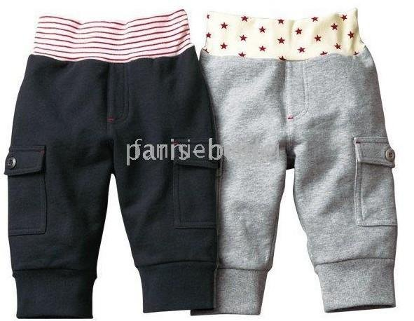 freeshipping cute boys and girls trousers pants children's pants baby trousers 20pcs/lot(China (Mainland))
