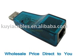 Free Shipping+New USB RJ45 Lan Ethernet 10/100 Mbps Network Adapter Card/usb lan card W/Retail package and driver (Blue,black )(China (Mainland))