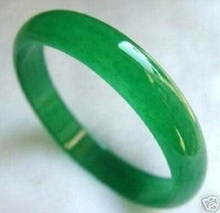NATURE Real Green Jade Bracelet  color Fashion Free shipping