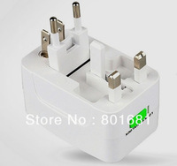 Free Shipping+ 5pcs/lot+New +wholesales+Multi ALL in 1 universal travel AC power adapter plug+W/Retail package