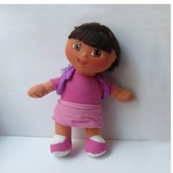 "High Quality Soft Plush Dora the Explorer BACKPACK Dora Doll Toy 8.5"" S-PINK Wholesale and retail"