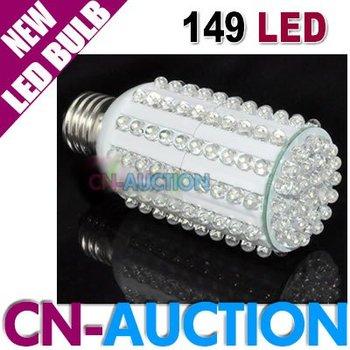FREE SHIPPING!!! 9W E27 149 LED Corn Light Bulb White / Warm White 110V~220V Energy Saving Lamp (CN-LLB13) [Cn-Auction]