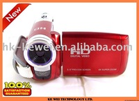 "Free shipping 3pcs/lot Digital DV camera 16MP,5.1MP CMOS Sensor,3.0""TFT LCD,16X Digital Zoom,TV Out,Anti-shake (DV-A70)"