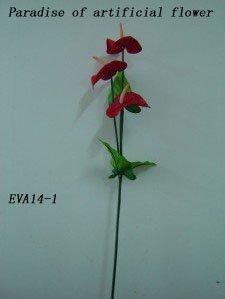 OEM design handmade silk decorative flowers & wreaths wholesale and retail (artificial flower)