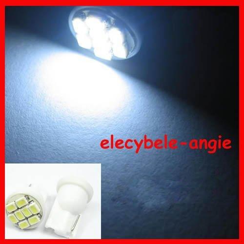 Free Sample Wholesale - DC12V T10 8PCS 1206 SMD Signal Light Bulb LED Car Bulbs LED Indicator  ...