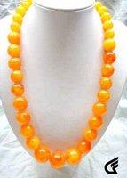 Wonderful rare chinese tibet amber beads necklace  Fashion Free shipping