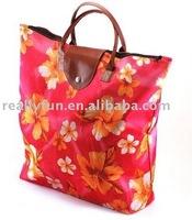 18pcs/lot, Foldable Polyester tote shopping Bag, waterproof shopping bag
