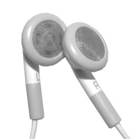 mobile phone New Earphone and handsfree With Mic for iphone 3G/3GS/4G free shipping via EMS