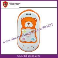 China Post Free Shipping! Bear mould 2-way talking Phone for Kid/child//Elder/Human GPS tracker with SOS Button GPS-PT301
