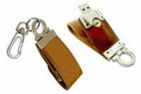 Free Shipping, 1GB/2GB/4GB/8GB/16GB Leather USB Flash Drive (free shipping for more than 30pcs)