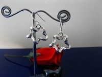 New Free shipping 925 sterling silver Charm jewelry Fashion 925 Earring E31