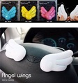 wholesale angel wings stickers car air household use fragrance perfume freshner jasmine rose limon balm lavender