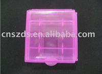 200pcs/lot  Hard Plastic Case Holder Storage Box AA AAA Battery batteries Portable