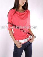 Free shipping, custom professional  Japan and Korea fashion women's T shirt (OEM any brand)