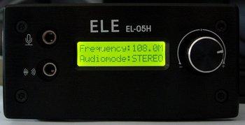 0.01-5W FM transmitter FM Exciter FM radio station