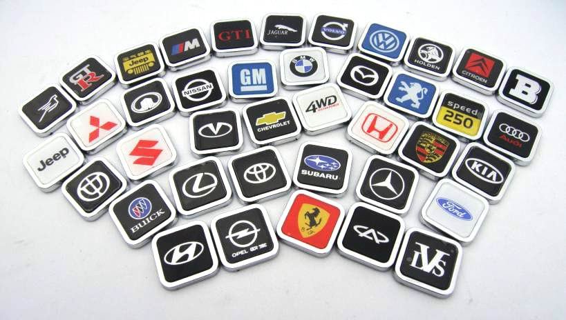 Car logo 3d stickers and decals\3d car logo sticker\Guaranteed 100%\Stereo feeling\League(China (Mainland))