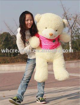 110cm Giant Soft Plush Wish wing Bear, Plush toy, soft toy, plush bears, plush stuffed toys, Free shipping+Gift+card