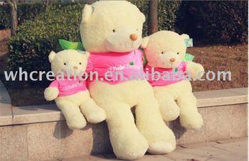 63''(160cm) Giant Soft Plush Wish wing Bear, Plush toy, soft toy, plush bears, plush stuffed toys, Free shipping+Gift+card