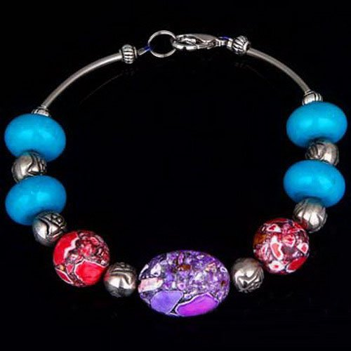 NEW ARRIVAL Wholesale low price VERY STUNNING BRAND NEW TIBETAN SILVER TURQUOISE bracelet.TB-005(China (Mainland))