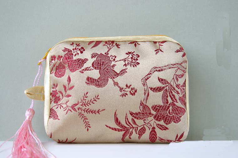 China Digital Camera Pouch Camera Cases Camera Bags Cheap China silk Fabric Color Tassel Fitted Camera Bag 10pcs mix Free
