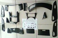 Interior Toyota Reiz - 3D black carbon fiber - paste pieces