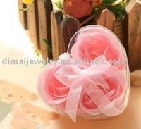 organic soap flowers