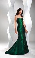 E628 Elegant charming strapless mermaid fashion dress