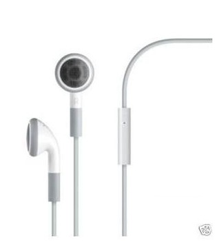 Free transport to sell Original Genuine Stereo Headset with Mic for iphone 3gs