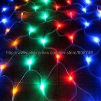 free shipping led net light christmas string light festival holiday wedding decoration light party lighting
