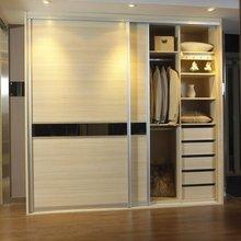 Factory supply high quality 2 doors Fashion wardrobe(China (Mainland))