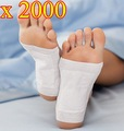 2000 pcs/lot New Detox Foot Pad Patch & Adhesive Sheets EMS  Shipping