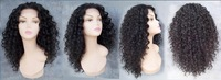 FREE SHIPPING Synthetic lace front wig 20 INCH #1B CURLY