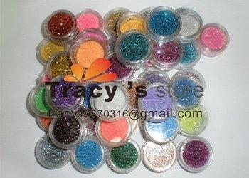 45 Color  Nail Art Glitter Powder/ nail art glitter dust / nail decoration  whole sale price NAG45