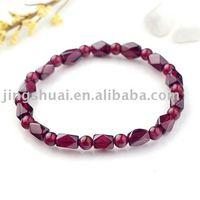 wholesale  natural crystal bracelet/Pure natural garnet bracelet/freight free