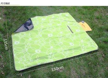 High-grade pull grain suede camping cushion / Picnic mat/ portable moistureproof mat