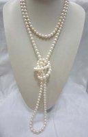 Nice Qaulity Real Freshwater Pearl Necklace Fashion AKOYA Free shipping