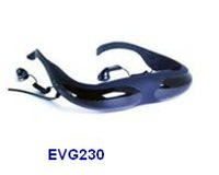Free shipping EVG230 50 inch TFT-LCD Video Glasses, Video Eyewear player $5 off per $100 order