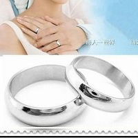 Free shipping fashion jewelry stainless steel jewelry  titanium  ring lover rings one pair/lot