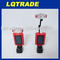 Multi-function rechargeable lights/Solar Flashlight/Solar Tent Lamp/Solar Camping Lamp 4V/70mA