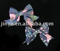 fashin denim bow brooch
