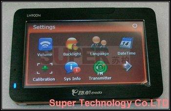 Free 2GB TF Card,Free Map Car GPS Navigation,4.3inch LCD LH900N Windows CE GPS navigator PPC UMPC