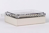W175XH250XD75MM/IP66/CLEAR COVER/PLASTIC ENCLOSURE/PLASTIC BOX/DISTRIBUTION BOX/WATERPROOF BOX