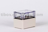 W80XH110XD85MM/IP66/CLEAR COVER/PLASTIC ENCLOSURE/PLASTIC BOX/DISTRIBUTION BOX/WATERPROOF BOX