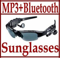 Mp3 Player Free Shipping  Bluetooth Sunglass 2GB Headset Sunglasses