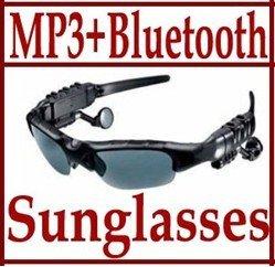 Mp3 Player Free Shipping  Bluetooth Sunglass 2GB Headset Sunglasses