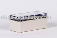 W80XH180XD85MM/IP66/CLEAR COVER/PLASTIC ENCLOSURE/PLASTIC BOX/DISTRIBUTION BOX/WATERPROOF BOX