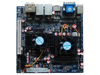 OO Ahome:Mini ITX BW78E62A+CPU TL52 dual core AMD 780E, 17*17cm, Thin Clients,POS, Car PC Motherboard