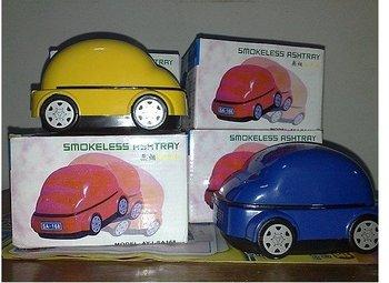 free shipping 5pcs/lot Smokeless Ashtray USB Active Carbon Filter Smokeless Ashtray,smokeless car ashtray novelty ashtray