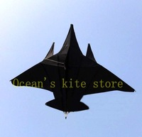 2013 New style, Full black batttleplan kite/beautiful and easy fly/sport kite,toys/single line kite